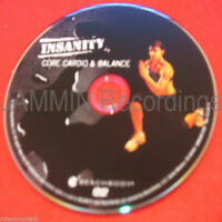 Insanity - Core Cardio & Balance - Dvd / Shaun T - (1 Dvd)
