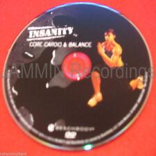 INSANITY - Core Cardio & Balance - New DVD / Shaun T - (1 DVD)
