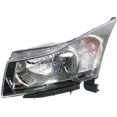 CAPA Driver Side Headlight Clear Lens For Cruze 11-16