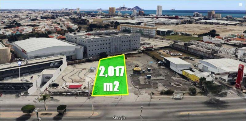 Terreno Comercial en Venta sobre Avenida Rafael Buelna en Mazatlán - $12,000/m2