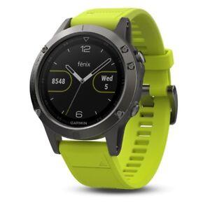 82b528223 Reloj Garmin Fenix 5 Bluetooth 010-01688-02 Neg/am | Compra online ...