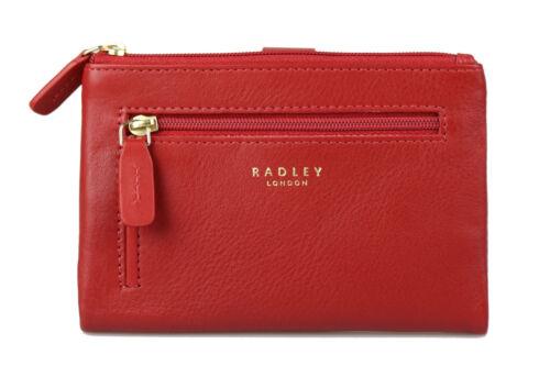 "Radley London Femmes Portefeuille 13710 /""larks Wood/"" Cuir Bordeaux Red Rouge"