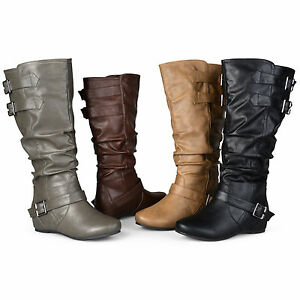 Journee Collection Womens Wide And Extra Wide Calf Slouch