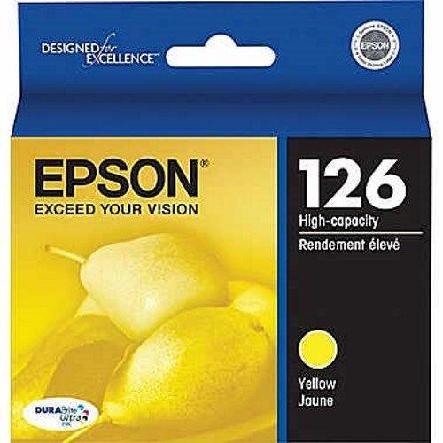 Magenta,Yellow Original Genuine Cyan Epson Ink Cartridges 126 Black