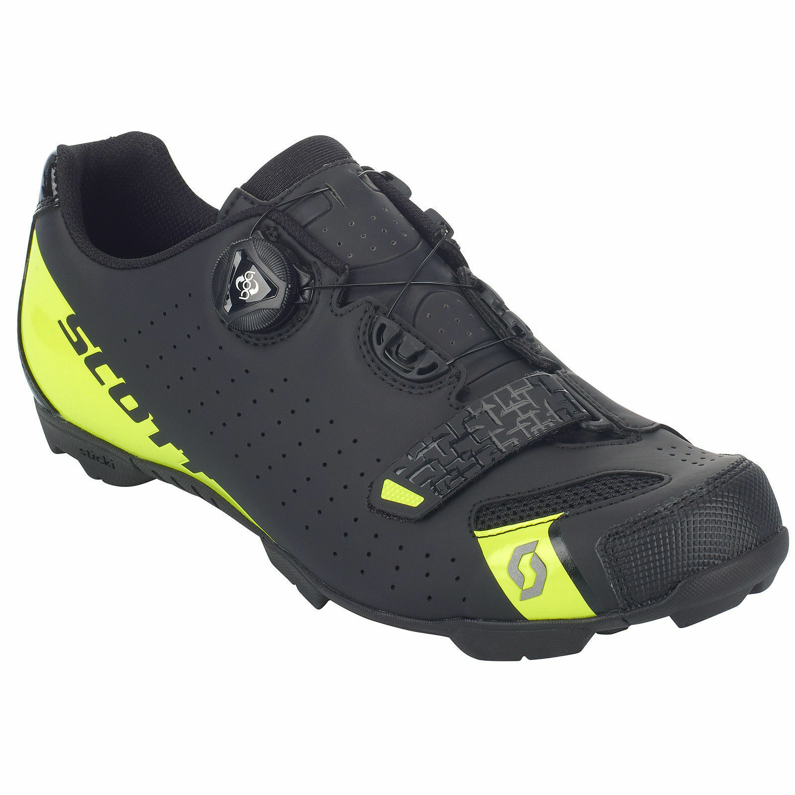 shoes SHOES SCOTT MTB COMP BOA color black-yellow FLUO