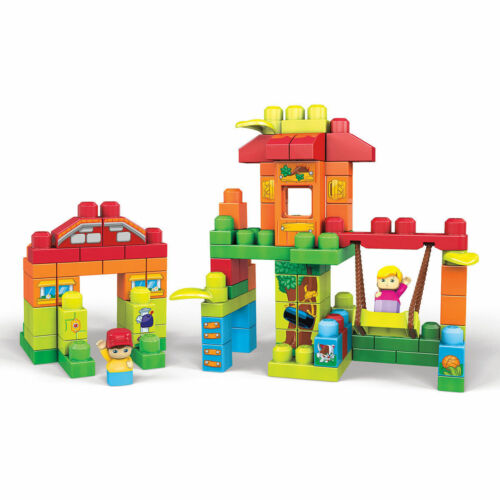 1-5 Years Fisher Price Mega Bloks 120 Piece Treehouse Playdate Building Set