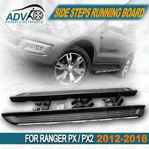 for-Ford-Ranger-PX-Wildtrak-Black-Running-Boards-Side-Steps-2012-2018-Dual-Cab