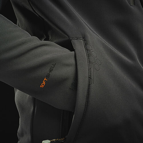 Regatta Professional Men/'s Repeller Softshell TRA660 Waterproof Jacket Hoodie