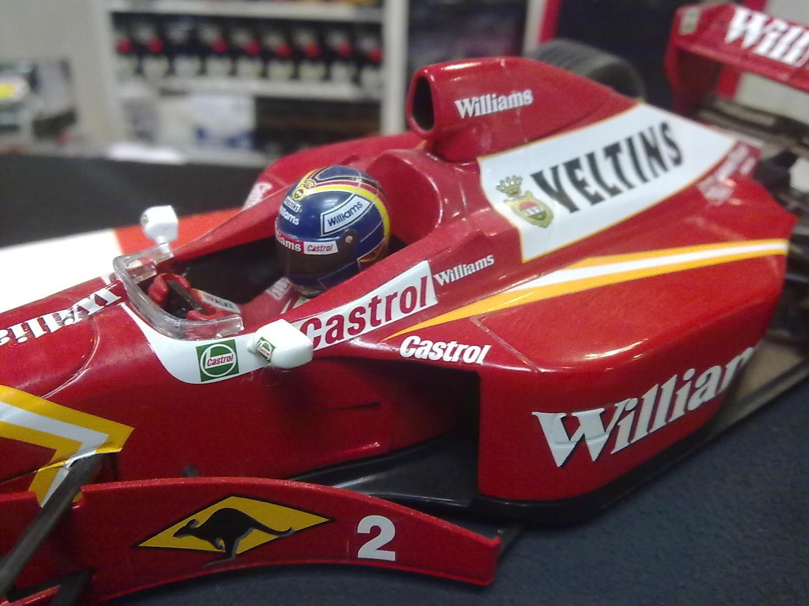 Williams Williams Williams Mecachrome Launch Version 1998 1 18 Heinz Harald Frentzen c7ad36