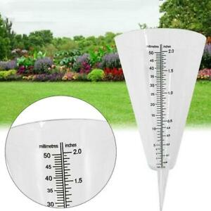 Cone Rain Gauge Measurement Ground Precipitation Garden Rainfall Measuring ToBA