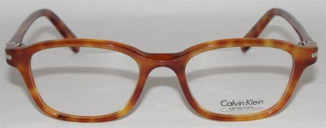 bf21a374d9e CALVIN KLEIN MENS WOMENS EYEGLASSES CK 7105 238 BLONDE HAVANA GLASSES ITALY