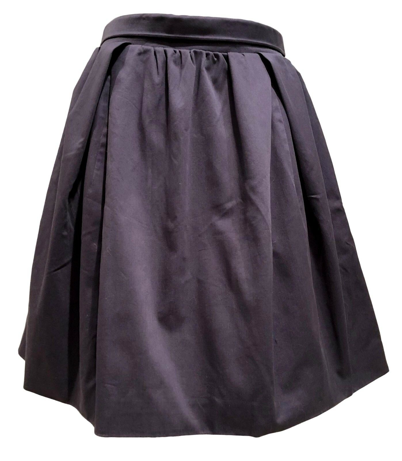 CARVEN COTTON NAVY SKIRT, 38,  645