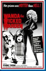 Image Is Loading Wanda The Wicked Warden Movie Poster