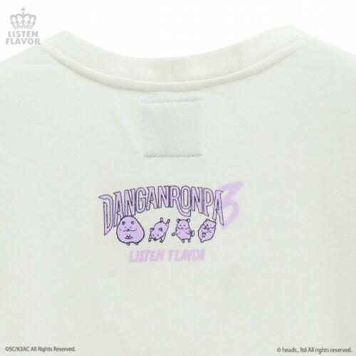 NEW Danganronpa V3 Listen Flavor Sweat Shirt Gundham Tanaka White from Japan F//S