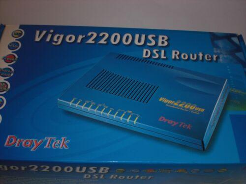 DrayTek Vigor 2200USB DSL Router – New Other