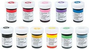Wilton-ICING-COLOURING-Gel-Paste-28g-1-oz-cake-decorating-fondant-frosting