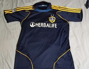 separation shoes 644de 7e0c4 Details about Youth 2009-2010 MLS LA Galaxy Herbalife Mike Magee XXL Jersey  Kit