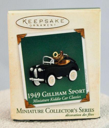 Hallmark Keepsake Ornament Kiddie Car Classic Miniature 1949 Gillham Sport