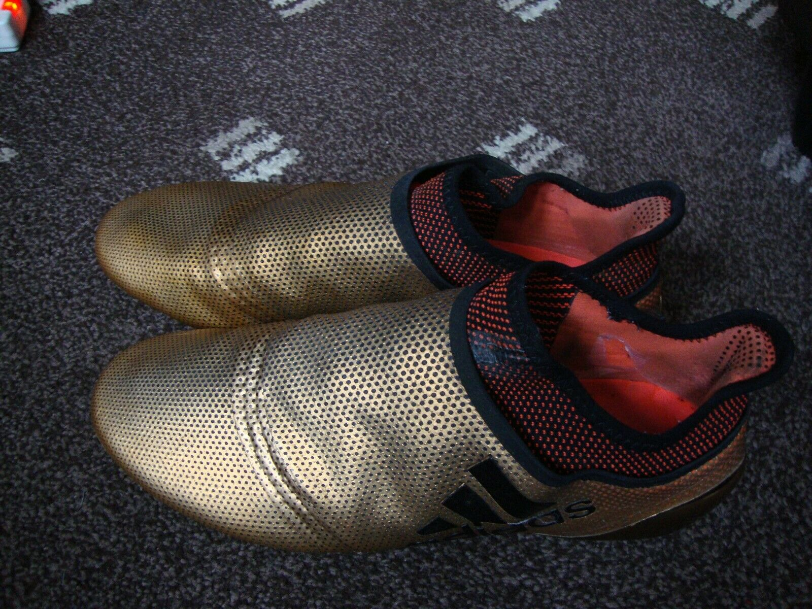 Adidas Mens  Football boots X17 + FG Size 10