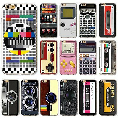 Hot Thin TPU Vintage Retro Patterned Case Cover For iPhone 4 4S 5S 5C 6 6S 6Plus