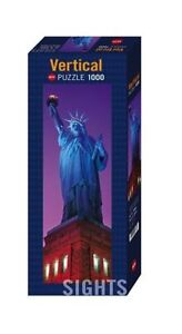 STATUE OF LIBERTY VERTICAL JIGSAW BY Heye HY29605 - Heye Puzzles 1000 PIECE