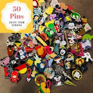 Disney-Trading-Pins-Lot-of-50-Disney-Pins-in-Canada