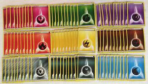 Pokemon-Tcg-90-basicas-de-energia-Tarjetas-Lote-10-de-cada-tipo-Hada-De-Metal-Oscuridad