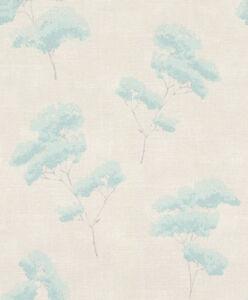 Vliestapete-Rasch-Gypso-700831-Blumen-Floral-Creme-Tuerkis-Grau-EUR-2-62-qm