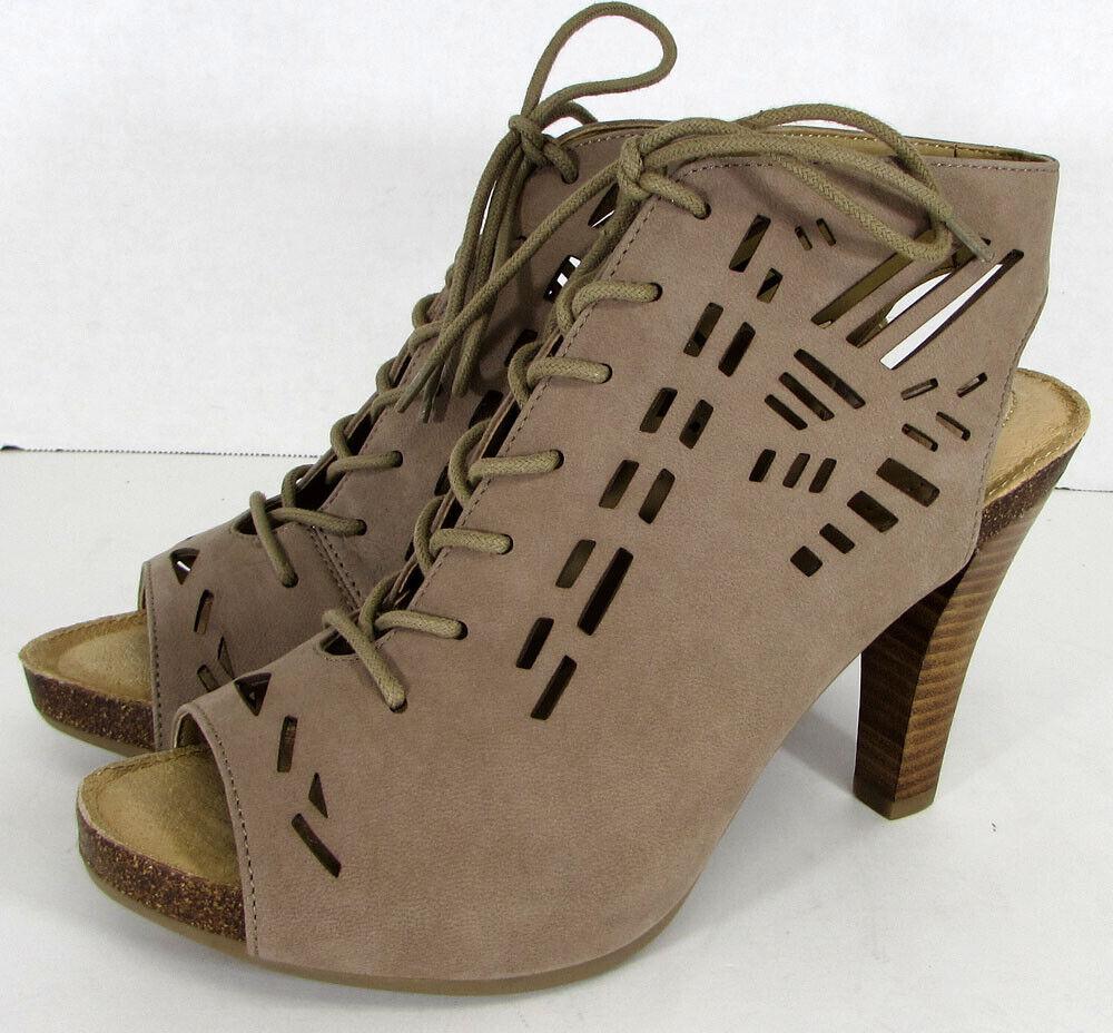 Adam Tucker By Me Too Womens Gemma Pump Sandal Shoes, Rosewood, US 6.5