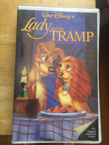 Lady And The Tramp 1987 Vhs Disney Classic Black Diamond 1st Release Like New 12257582031 Ebay