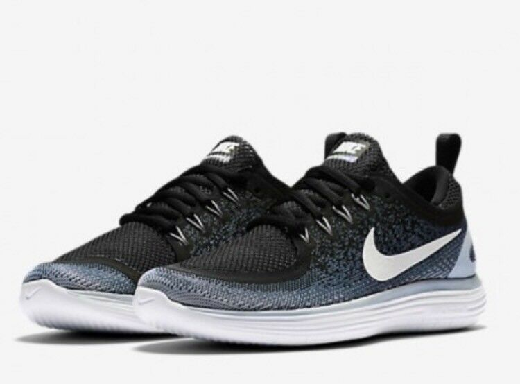 Nike FREE RN DISTANCE 2 Black / Grey Women's Running