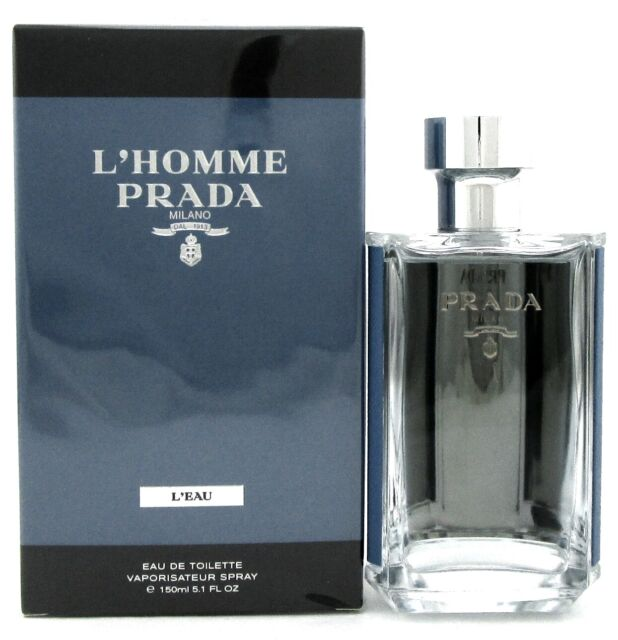 2b28c1eb1a PRADA MILANO L'homme L'eau Men Cologne EDT Spray 5.1 Oz / 150 Ml for ...