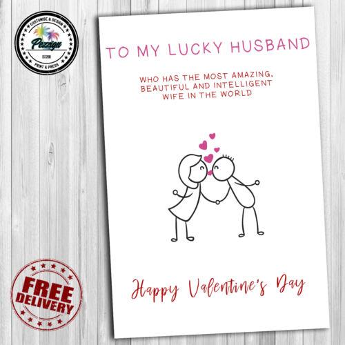 Funny Love Husband Wife Boyfriend Girlfriend Anniversary ANNIVERSARY CARD