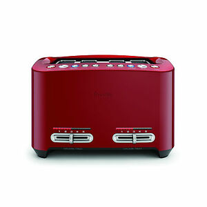 Breville-BTA845CRN-the-Smart-Toast-4-Slice-Toaster-Cranberry-RRP-199-95