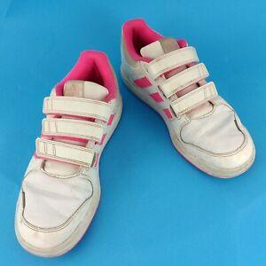Adidas Ortholite Junior Trainer White
