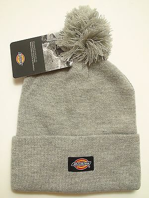 Dickies Beanie Winter Hat Mens 14 Inch Rolled Cuff Double Layer Skull Cap Navy