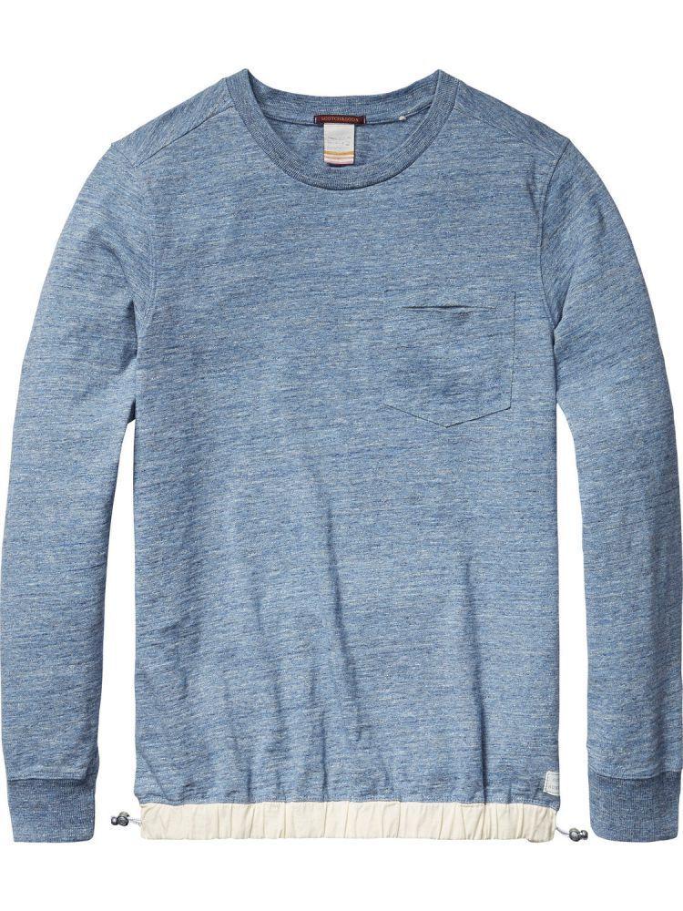 SCOTCH & SODA Camica Shirt blu Melange