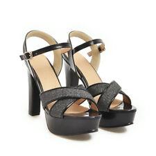 a64132d3ef2 item 2 Women s Shiny Platform Chunky Block High Heel Sandals Party Dress  Peep Toe Shoes -Women s Shiny Platform Chunky Block High Heel Sandals Party  Dress ...