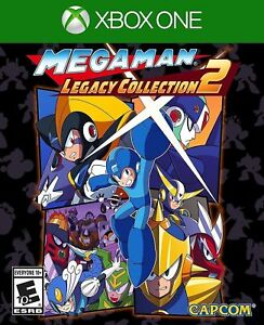 Mega-Man-Legacy-Collection-2-Xbox-One-XB1-Brand-New-Factory-Sealed