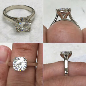 14K-White-Gold-Rings-3-00-Carat-Round-Solitaire-Moissanite-Engagement-Ring-Size