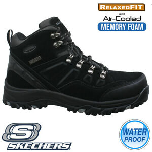 MENS SKECHERS RELAXED FIT MEMORY FOAM WALKING CHUKKA ANKLE BOOTS SHOES TRAINERS