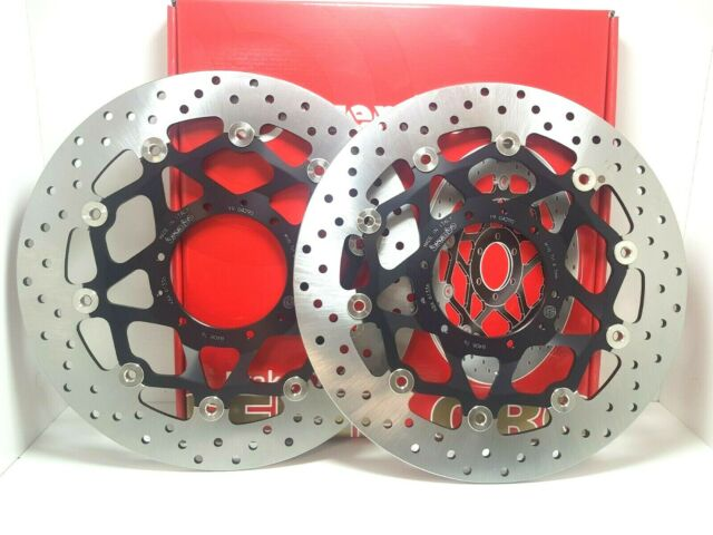 78B76 Pair Brake Discs Front Floating Brembo Honda CBR 1000 RR ABS 2013 2014