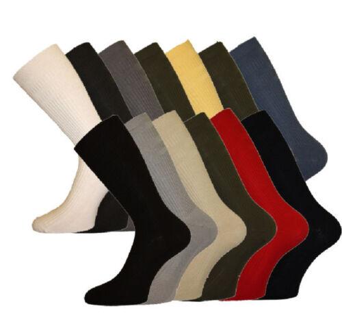 13-15 Hommes hj softop laine riche chaussettes taille 6-11 beaucoup de couleurs 11-13 HJ90