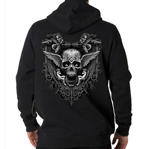 Inkception-Biker-Skull-Wings-Angels-Motorcycle-Chopper-Hooded-Sweatshirt-Hoodie