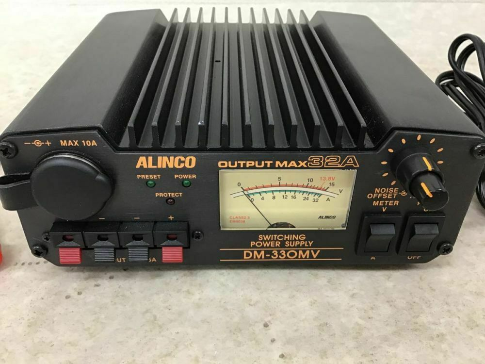 ALINCO DM-330MV Switching power supply. Buy it now for 250.00