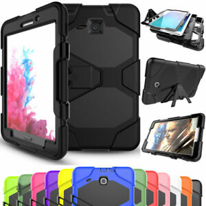 big sale 3ac17 77753 Shockproof Hybrid Tablet Case Cover For Samsung Galaxy Tab A A6 S4 ...