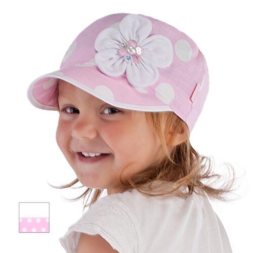52 Summer baby hat children hat for little girls with flower siz 50 54 1.5-4