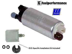 Genuine-Walbro-255LPH-Fuel-Pump-EVO-INSTALL-KIT-MITSUBISHI-LANCER-EVO-GSS342