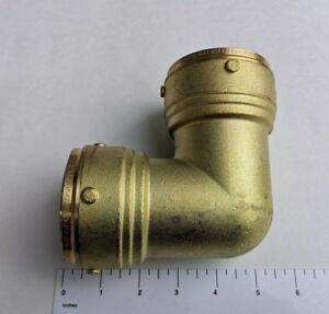 5-PIECES-2-034-X-2-034-PUSH-FIT-ELBOW-54-MM-LEAD-FREE-BRASS-FOR-COPPER-PEX-CPVC