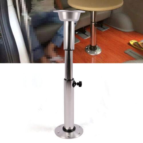 Manuell Aluminium+ABS Höhenverstellbar Tischgestell für Wohnmobil Wohnwagen Boot